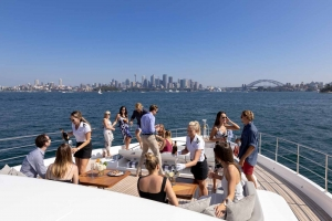 Oneworld's spacious decks allow for events of up to 100 guests