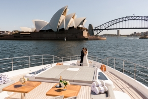 The perfect backdrop for an intimate Sydney wedding
