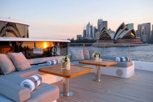 No better view of Sydney Harbour