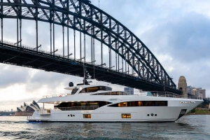 Don't forget to look up when cruising under the Sydney Harbour Bridge