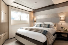 One of Oneworld's luxury queen cabins